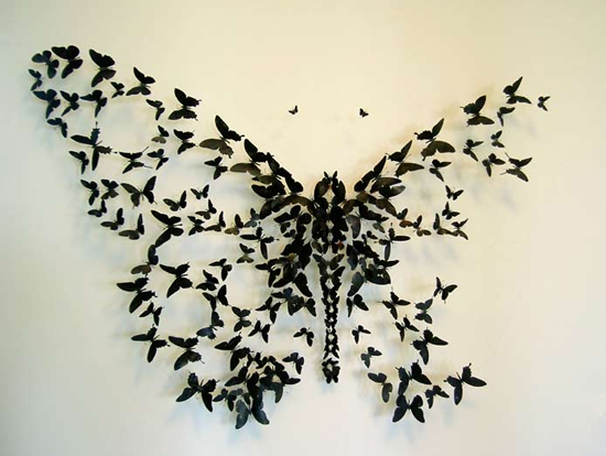 Guess What These Butterflies Are Made From?