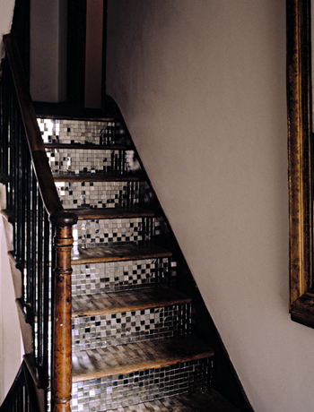 Love It or Hate It? Mirror Tiled Steps