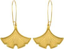 fredflare.com | ginkgo biloba earrings