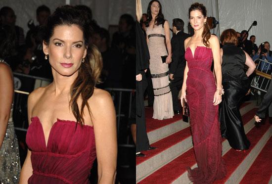 The Met's Costume Institute Gala: Sandra Bullock