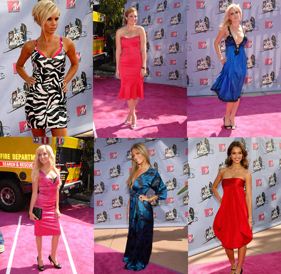 MTV Movie Awards Trend: Bold Hues