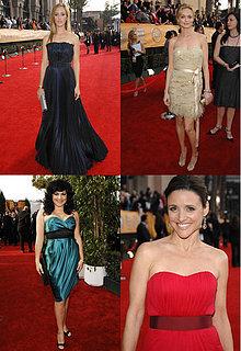 SAG Awards Red Carpet: Strapless & Belted