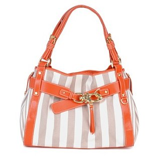 "The Bag To Have: Francesco Biasia Orange ""Perfect Harmony Tote"""