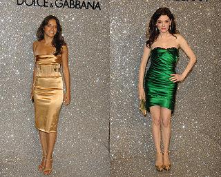 Battle of the Dolce & Gabbana: Rodriguez vs. McGowan