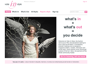 Fab Site: VoteInStyle.com