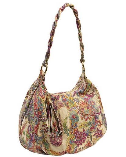 The Bag To Have: Inge Large Paisley Pandora Hobo