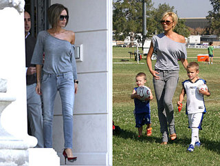 Victoria Beckham Is a Re-Outfitter!