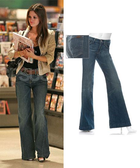 Found! Rachel Bilson's Sassy Wide Legged Jeans