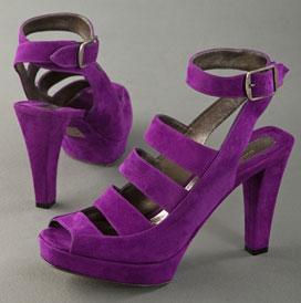 Donna Karan Collection Purple Platform Sandal: Love It or Hate It?