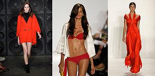 New York Fashion Week Trend Alert: Red