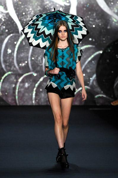 New York Fashion Week, Spring 2008: Anna Sui