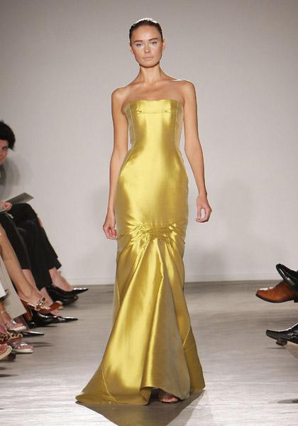 New York Fashion Week Key Color: Yellow