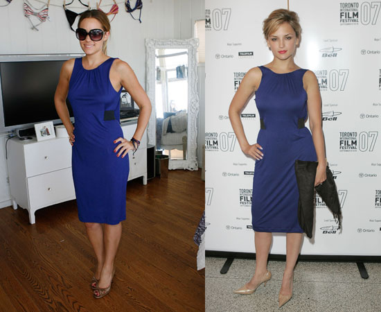 Who Wore It Better? French Connection Bella Dress