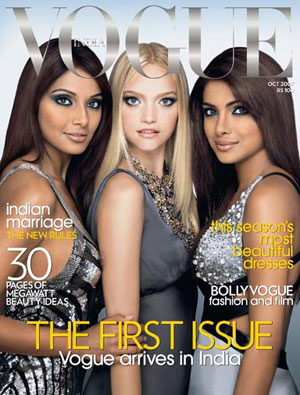 Fab Flash: Vogue India Launches