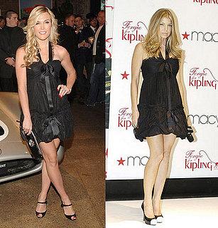 Who Wore It Better? Black Chanel Tie Frock