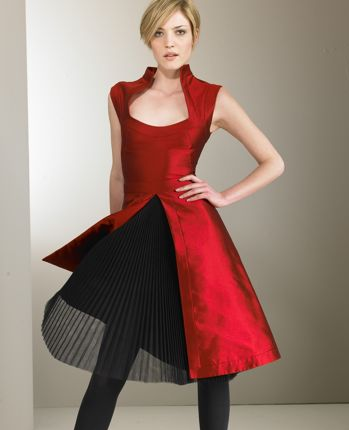 Alexander McQueen Tulle-Underlay Silk Dress: Love It or Hate It?