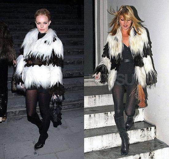 Who Wore It Better? Fendi Fur Coat