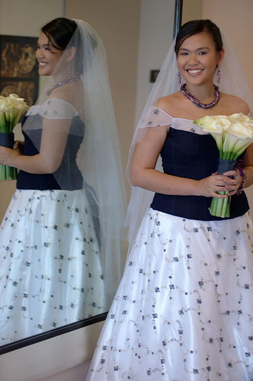 My Denim Wedding Dress