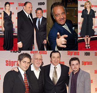 Sopranos Cast Takes Break From Shooting to Celebrate