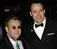 Celebs Brave The Rain In The Name of Sir Elton John