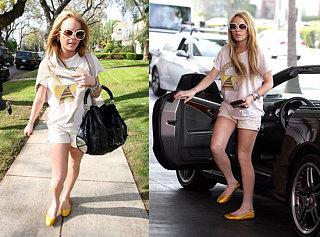 Lindsay as Princess Diana?!