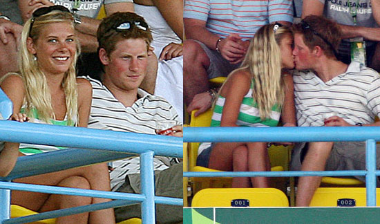 Prince Harry Does Some Cricket-Style Canoodling