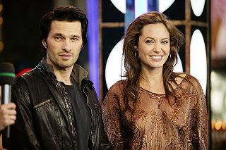 Angelina Giving Out Lap Dances? Hmmm...