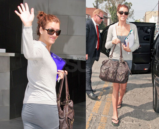 Kate Waves Bye Bye To The Emmy Nominated Grey's