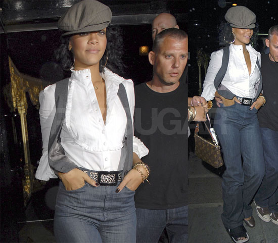 Rihanna Takes The Boot To Britain