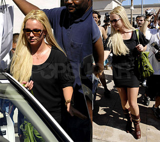 Britney Hits the Other Club