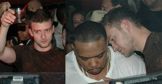 Justin Parties Before Debuting His FutureSex/LoveShow!