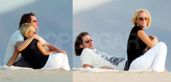 Jim and Jenny's Romantic Beach Hair