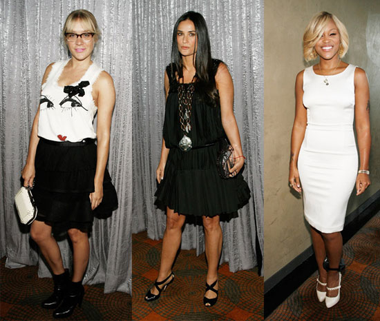 NY Fashion Week Goes Black And White