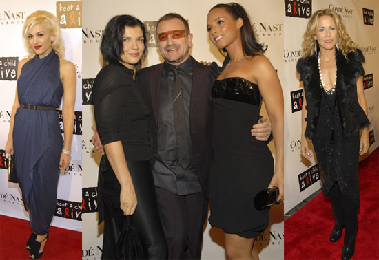Bono Gets Honored at the Black Ball