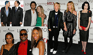 Supermodels and Marc Make for a Super Party