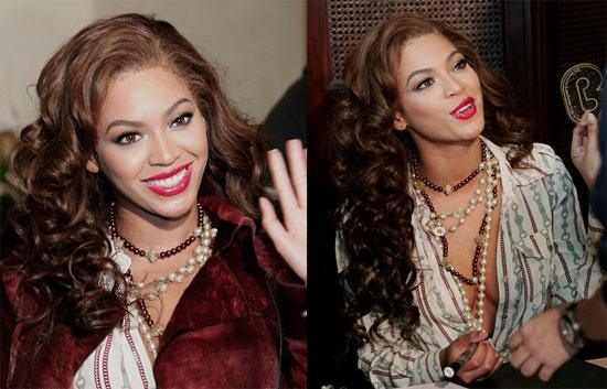 Beyonce Smiles Big in Seoul