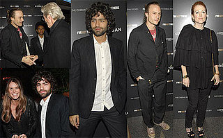 Adrian, Richard, Heath and Elle Were There Last Night