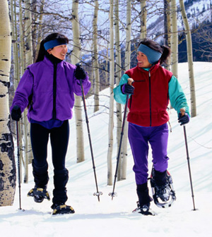 Get Ready for Snowshoeing!
