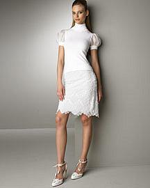 Turtleneck & Beaded Skirt?-? Valentino