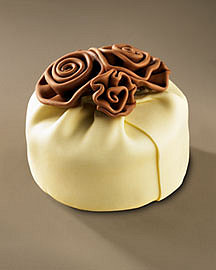Elegant Cheesecakes Cheesecake with Flower?-? Sweets?-? Neiman Marcus