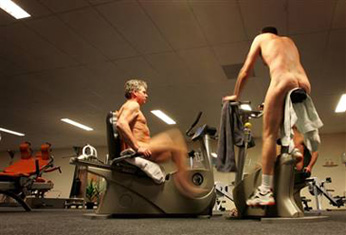What Do You Think About:  Naked Gyms?