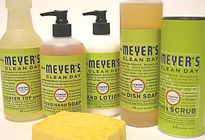 Aroma Therapy +  Cleaning = Mrs.  Meyers Clean Day