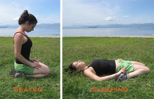 Strike a Yoga Pose:  Hero