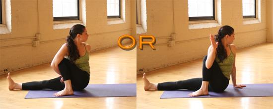 Strike a Yoga Pose: 1-Legged Seated Spinal Twist
