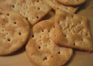 Nature's Path Crackers:  Made With Whole Wheat!