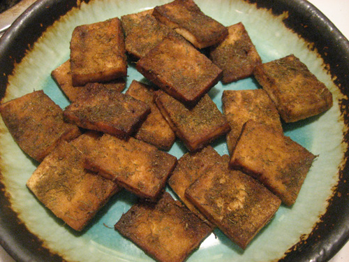Baked Tofu:  Full of Protein and Flavor