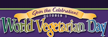 World Vegetarian Day is October 1
