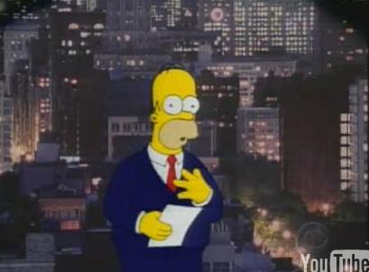 Top 10 Reasons Homer Simpson Should Be Prez
