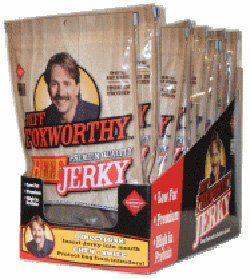 Product of the Day: Jeff Foxworthy Beef Jerky