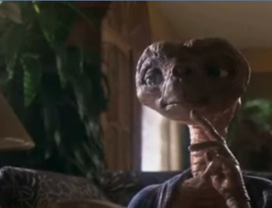 You, Me And E.T.